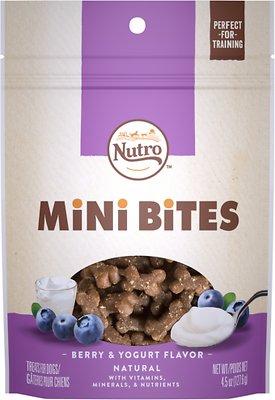 Nutro Mini Bites Berry & Yogurt Flavor Dog Treats