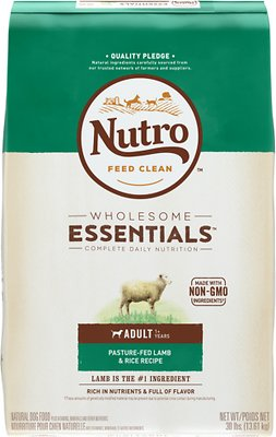 Nutro Wholesome Essentials Adult Pasture Fed Lamb & Rice Recipe Dry Dog Food