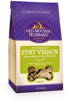 Old Mother Hubbard Classic Just Vegg'N Biscuits Baked Dog Treats