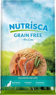 Nutrisca Grain-Free Salmon Recipe Dry Cat Food