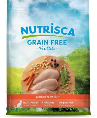 Nutrisca Grain-Free Chicken Recipe Dry Cat Food