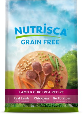 Nutrisca Grain-Free Lamb & Chickpea Recipe Dry Dog Food
