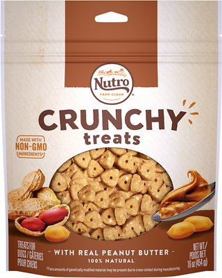 Nutro Crunchy with Real Peanut Butter Dog Treats