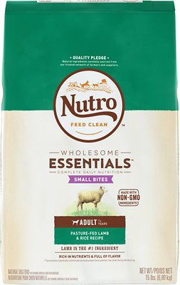 Nutro Wholesome Essentials Small Bites Adult Pasture Fed Lamb & Rice Recipe Dry Dog Food