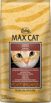 Nutro Max Adult Salmon Flavor Dry Cat Food