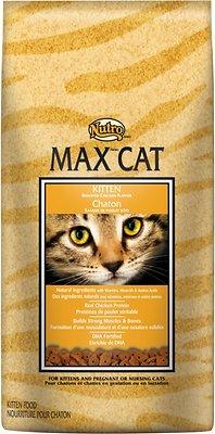 Nutro Max Kitten Roasted Chicken Flavor Dry Cat Food