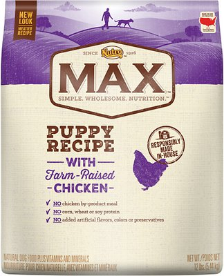 Nutro Max Puppy Natural Chicken Meal & Rice Recipe Dry Dog Food