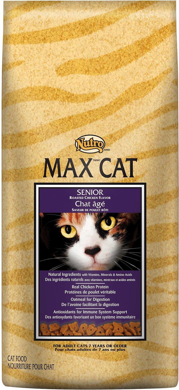 Nutro Max Senior Roasted Chicken Flavor Dry Cat Food Image
