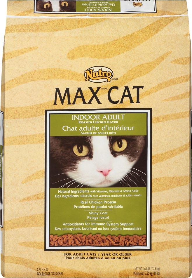 Nutro Max Indoor Adult Roasted Chicken Flavor Dry Cat Food Image