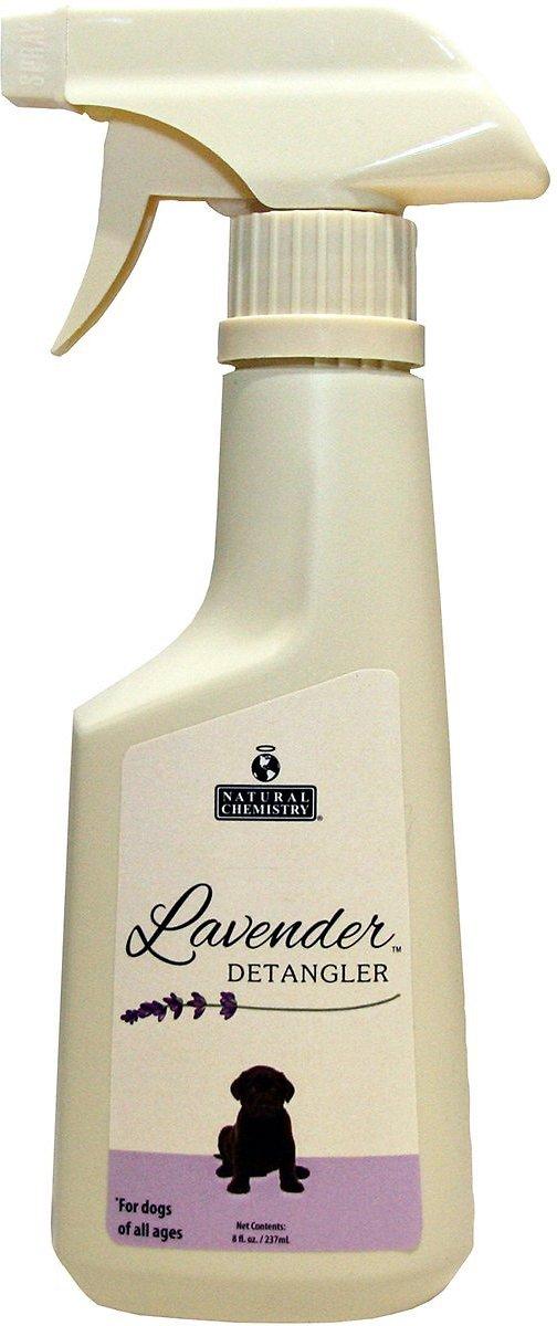 Natural Chemistry Lavender Detangler Spray for Dogs, 8-oz bottle