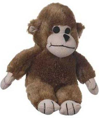 Multipet Look Who's Talking Monkey Plush Dog Toy