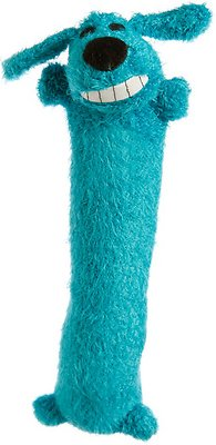 Multipet Loofa Dog The Original Plush Dog Toy, Color Varies, Small