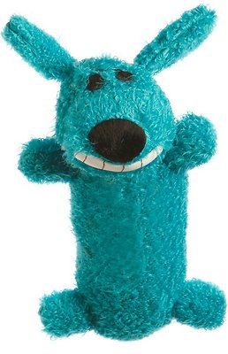 Multipet Loofa Dog The Original Plush Dog Toy, Color Varies, Mini