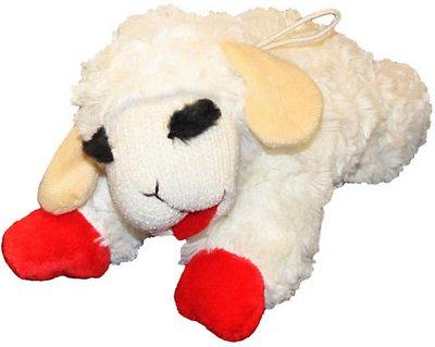 Multipet Lamb Chop Plush Dog Toy, Regular
