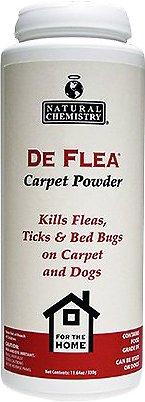 Natural Chemistry De Flea Carpet Powder, 11.64-oz jar