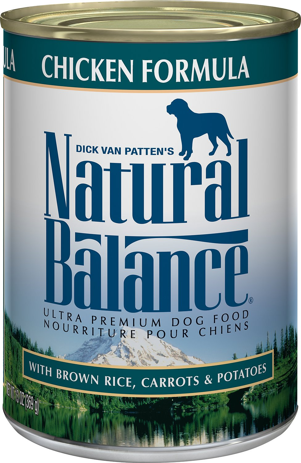 Natural Balance Ultra Premium Chicken Formula Canned Dog Food, 13-oz