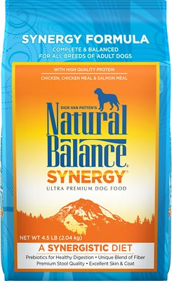 Natural Balance Synergy Formula Dry Dog Food, 4.5-lb bag