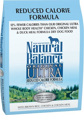 Natural Balance Original Ultra Reduced Calorie Formula Dry Dog Food, 14-lb bag