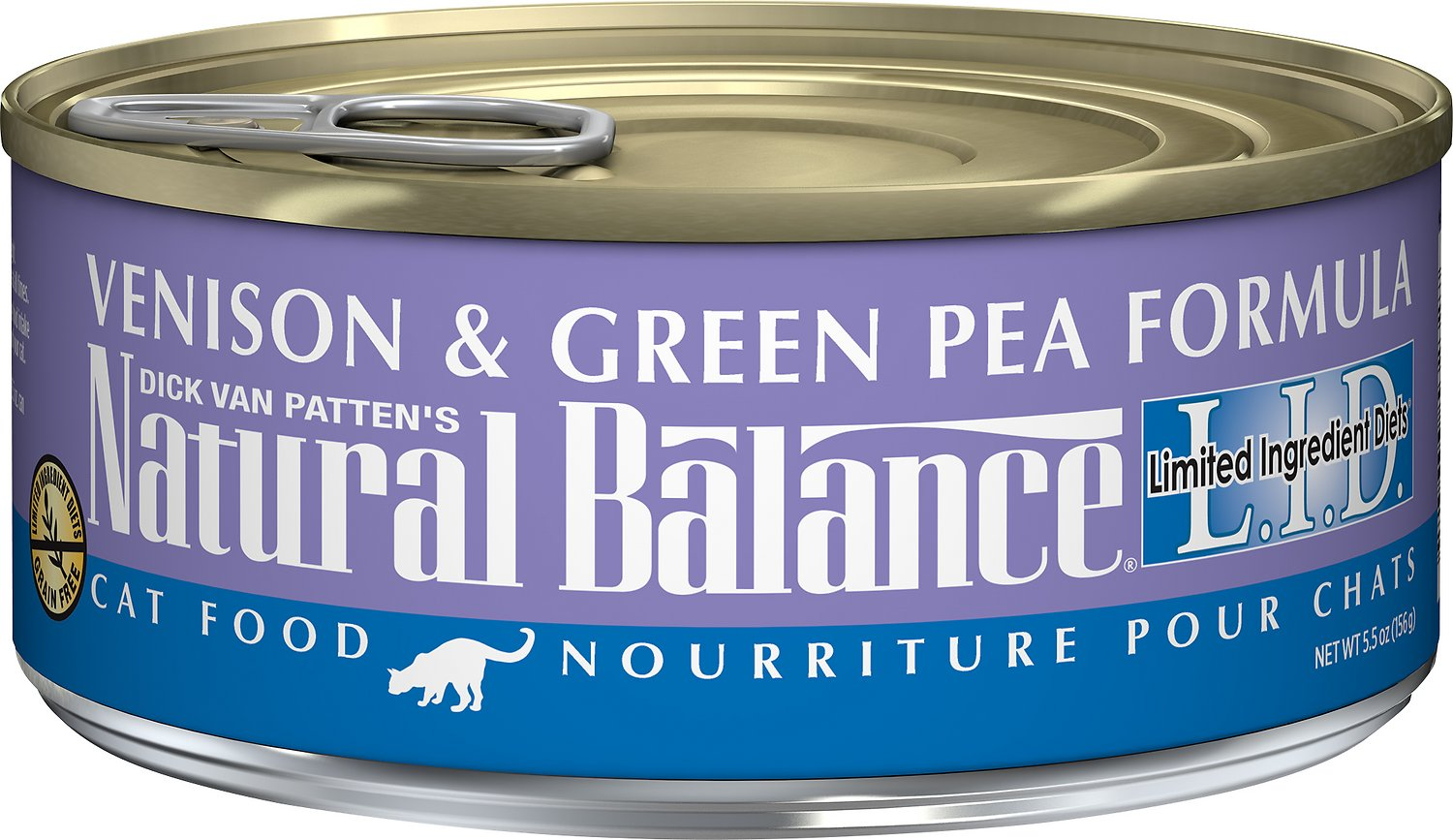 Natural Balance L.I.D. Limited Ingredient Diets Venison & Green Pea Formula Grain-Free Canned Cat Food