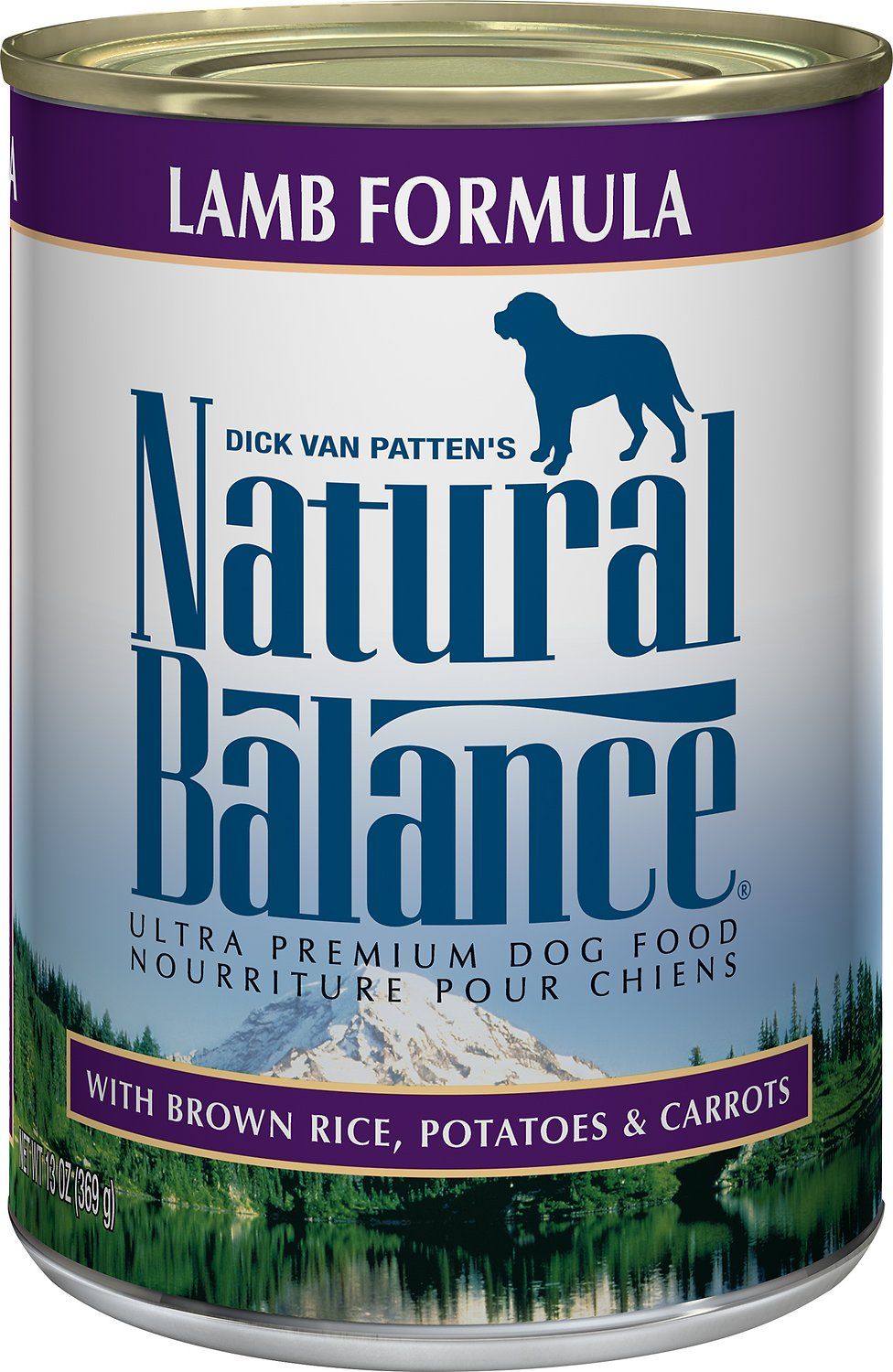 Natural Balance Ultra Premium Lamb Formula Canned Dog Food, 13-oz