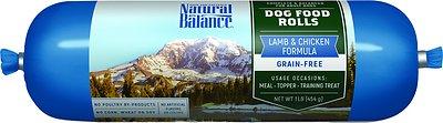 Natural Balance Lamb & Chicken Formula Grain-Free Dog Food Roll, 1-lb roll