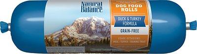 Natural Balance Duck & Turkey Formula Grain-Free Dog Food Roll, 2.25-lb roll