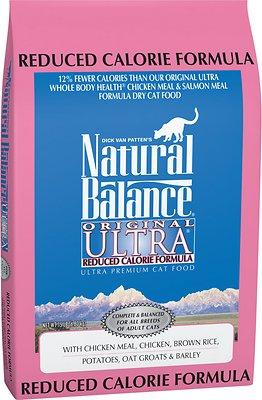 Natural Balance Original Ultra Reduced Calorie Formula Dry Cat Food, 15-lb bag
