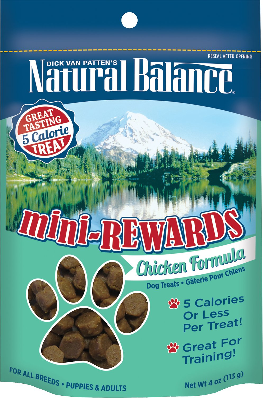 Natural Balance Mini-Rewards Chicken Formula Dog Treats, 4-oz bag