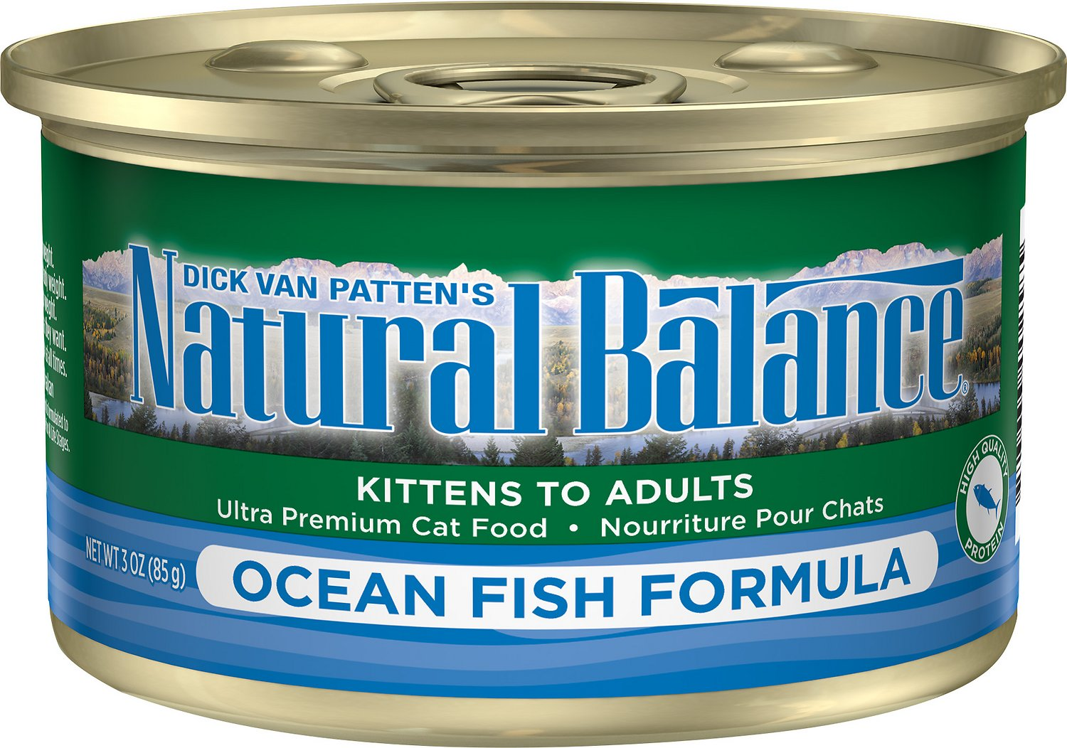 Natural Balance Ultra Premium Ocean Fish Formula Canned Cat Food, 5.5-oz