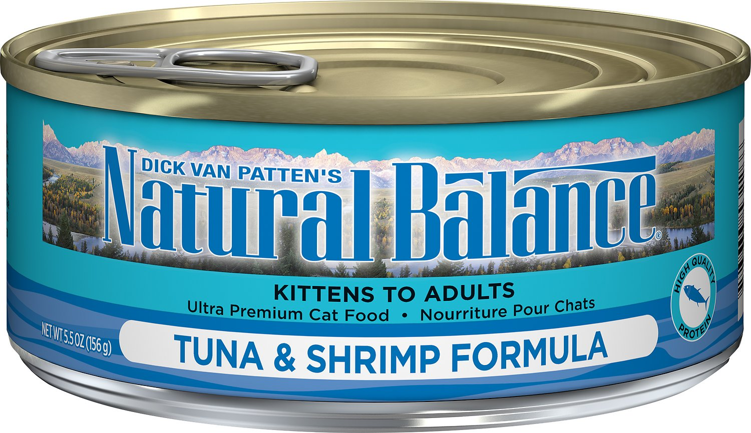 Natural Balance Ultra Premium Tuna with Shrimp Formula Canned Cat Food, 5.5-oz