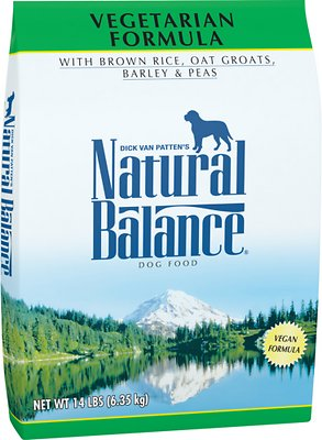 Natural Balance Vegetarian Formula Dry Dog Food, 14-lb bag