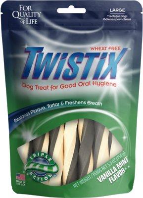 N-Bone Twistix Vanilla Mint Dog Treats