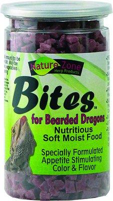 Nature Zone Bites Bearded Dragon Food, 9-oz bottle