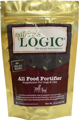 Nature's Logic All Food Fortifier Dog & Cat Supplement, 12-oz bag