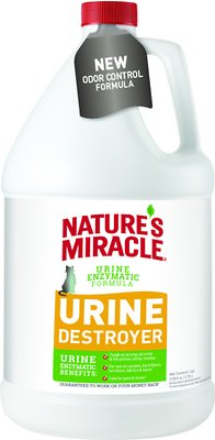 Nature's Miracle Cat Urine Destroyer, 1-gal bottle