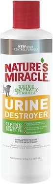 Nature's Miracle Dog Urine Destroyer Stain & Odor Remover, 16-oz bottle