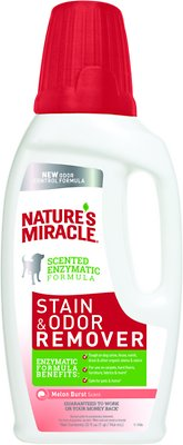 Nature's Miracle Dog Stain & Odor Remover Melon Burst, 32-oz bottle