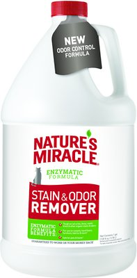 Nature's Miracle Just For Cats Stain & Odor Remover, 1-gal bottle