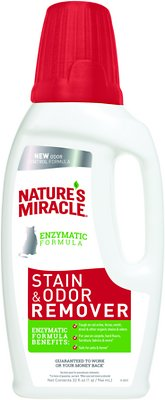 Nature's Miracle Just For Cats Stain & Odor Remover, 32-oz bottle