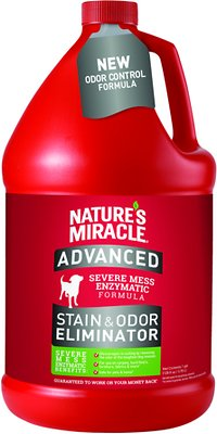 Nature's Miracle Dog Advanced Stain & Odor Remover, 1-gal