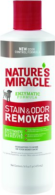 Nature's Miracle Dog Stain & Odor Remover, 16-oz bottle