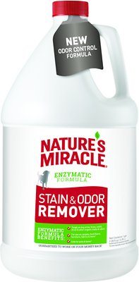 Nature's Miracle Dog Stain & Odor Remover, 1-gal bottle