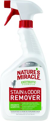 Nature's Miracle Dog Stain & Odor Remover Spray, 32-oz bottle