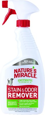 Nature's Miracle Dog Stain & Odor Remover Spray, 24-oz bottle