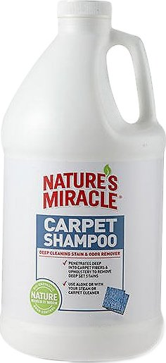 Nature's Miracle Deep Cleaning Carpet Shampoo, 64-oz bottle