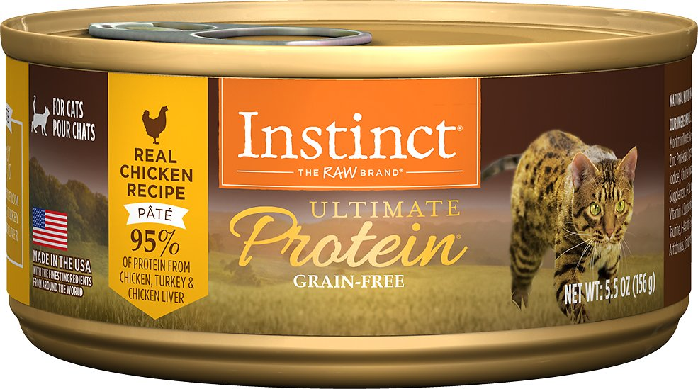 Instinct by Nature's Variety Ultimate Protein Grain-Free Real Chicken Recipe Natural Wet Canned Cat Food