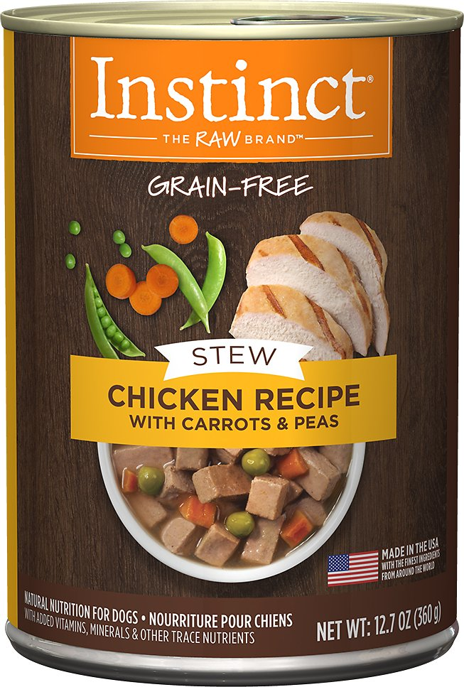 Instinct by Nature's Variety Grain-Free Stews Chicken Recipe Wet Canned Dog Food, 12.7-oz