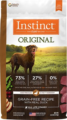 Instinct by Nature's Variety Original Grain-Free Recipe with Real Duck Dry Dog Food