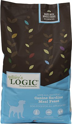 Nature's Logic Canine Sardine Meal Feast Dry Dog Food, 15.4-lb bag