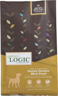 Nature's Logic Canine Chicken Meal Feast Dry Dog Food, 26.4-lb bag Weights: 26.4pounds, Size: 26.4-lb bag